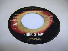 Rock 45 RINGO STAR OO-Wee on Apple