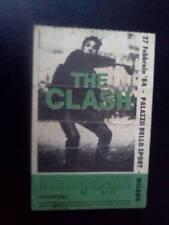 The Clash Joe Strummer ticket Milan 27/02/84
