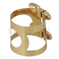 Double Threaded Rod Adjust Tenor Saxophone Mouthpiece Ligature