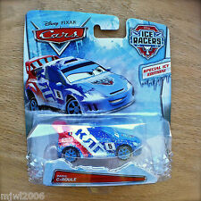Disney PIXAR Cars ICE RACERS RAOUL ÇAROULE diecast SPECIAL ICY EDITION! Moscow