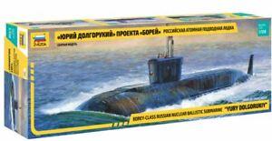 Borey-Class Russian Nuclear Ballistic Submarine Yuri Dolgorukij 1:3 50 Model