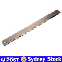 "Bronze Guitar Neck Notched Straight Edge Luthiers Tool Dual Scale 25.5"" 24.75"""