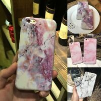 Ultra Slim Marble Soft TPU Silicone Back Case Cover For iphone 6 6S 7 7 8 Plus