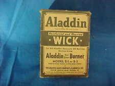 MIB 1930s ALADDIN Oil Lamp WICK For Model S1-S2 LAMPS