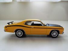 JOHNNY LIGHTNING - MOPAR MUSCLE MAGAZINE - 1971 PLYMOUTH DUSTER 340 - (LOOSE)
