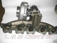 Turbokit Audi S4/S6 - Garrett GT3076R + Audi RS2 Krümmer upgrade + Zubehör