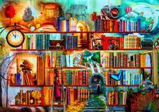 """Puzzle """"Bibliothèque - Écrivains Mystères"""" 1500 Pièces - Bluebird - Neuf"""