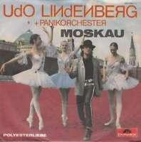 """Udo Lindenberg + Panikorchester* Moskau 7"""" Single Vinyl Schallplatte 45733"""