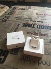New original Apple AirPods 2 headphones with wireless charging
