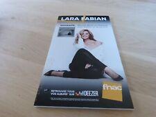 Lara Fabian PAPILLON  !!!!!!! PLV / DISPLAY 14 X 25 CM