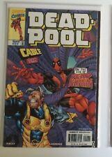 Deadpool # 22 1st Cable  Team up Vol 1 1997 N mint 1 st print