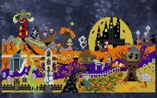 10% Off Ship's Manor Counted X-stitch chart - Halloween Town
