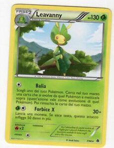 Pokemon Leavanny 7/98 Rara - Nuove Forze ITA Mint