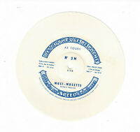 45T 15 cm Souple MUSI-MUSETTE G. Roussel Pub SPEED Emballage DISCOTHEQUE POCHE