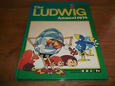 LIBRO THE LUDWIG ANNUAL 1979 Only Ever Issue BBC TV PER BAMBINI ANIMATA cartone