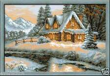 "Cross stitch kit RIOLIS ""Winter View"" art. #1080"