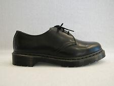 DR. MARTENS 1461  SMOOTH scarpa unisex in pelle colore nero a tre fori