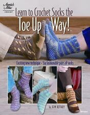 Learn to Crochet Socks the Toe Up Way! Annie's Attic