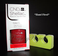 CND Shellac Hand Fired UV Gel Polish .25oz New With Box + BONUS ITEM!