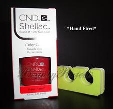 CND Shellac Hand Fired UV Gel Polish .25oz New With Box + BONUS ITEM!
