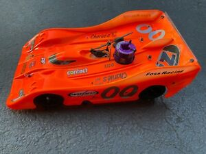 1/8 Scale Forfaster Z1 Radio Controlled Nitro RC Race Car.  Crazy Fast!