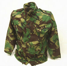 British military genuine vintage UK surplus DPM camo combat smock jacket M short