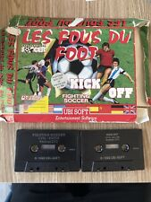 LOT 4 JEUX KICK OFF FIGHTING SOCCER FOOTBALL MANAGER 2  SOCCER AMSTRAD CPC 464
