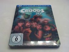 *READ* The Croods 3D Lenticular Magnet STEELBOOK (Blu-ray, Germany) RARE OOP!!!