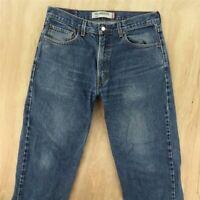 faded & distressed LEVI'S 550 fit denim jeans 34 x 29 (34 x 30 tag) blue