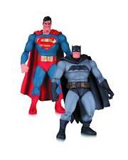 """El caballero oscuro regresa 30TH aniversario """"Batman y Superman"""" Set Figuras De Acción"""