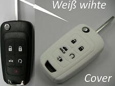 Chevrolet Aveo Spark Orlando Astra Captive Kalos Cover Hülle Fernbedienung Weiß