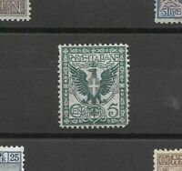 REGNO 1901 5 cent floreale nuovo ** mnh