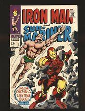 Iron Man & Sub-Mariner # 1 - Colan & Everett cover Fine+ Cond.
