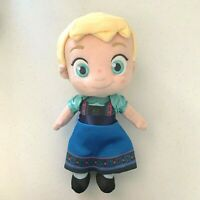 "Elsa 13""  toddler plush doll frozen ice princess BRAND NEW disney store"