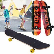 Skateboard Cruiser Skateboard Komplettboard mit ABEC-7 Kugellager Skateboard TOP