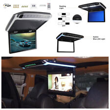 "12V 10.2"" HD Digital TFT Multimedia Video HDMI Car Roof Mount Flip Down Monitor"