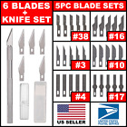 Hobby Exacto Knife X-Acto Set Blades Handle For Craftsman Craft Tool Precision