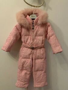 Moncler kids/baby girls down snowsuit/overall size 74 cm 9-12 months