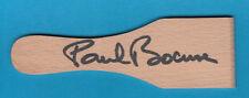 Paul Bocuse -  original signierter Racletteschaber - #  7001 - 405