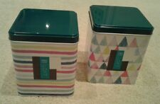Set of 2 Storage Tins from Marks & Spencer
