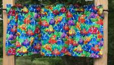 Colorful Clown Tropical Fish Nemo Kids Bath Handcrafted Valance