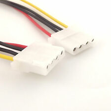 Power Extension Cable 4 pin LP4 Molex Female to Female Adapter Connector 30cm