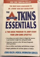 New Atkins Essentials Book Low Carb Atkins Diet Weight Loss Health