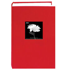 Pioneer Photo Albums Da-300Cbf Fabric Frame Bi-Directional Album Apple Red