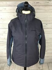 BERGHAUS AQ2 3 In 1 Jacket - UK16 - Purple & Blue - Hooded - Great Condition
