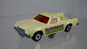 1977 Matchbox Superfast Holden Superbike Pick-Up Cream Diecast Toy Pickup Truck