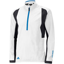 2015 adidas Climaproof Gore-tex Paclite Half Zip Waterproof Mens Golf Jacket  White Large 456c2fa59960