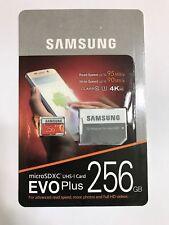 Samsung EVO Plus 256GB UHS-I U3 Class 10 MicroSDXC Micro SD Memory Card