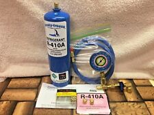 410A, R410a, Refrigerant Refill Kit Gauge Charging Hose & Instructions, Kit B