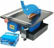 Silverline 450w Electric Wet Tile Cutter Floor Wall Tilling Diamond Cutting Tool